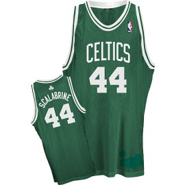 Boston Celtics Authentic Style Road Jersey Green #44 Brian Scalabrine
